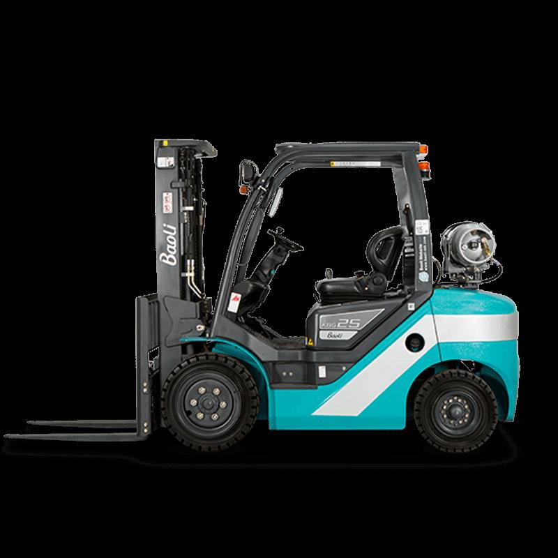 Baoli Used Forklift: CPQD25F08