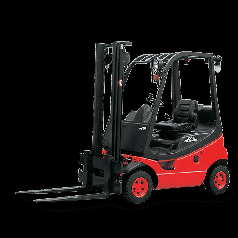 Linde Used Forklift: H18T  350