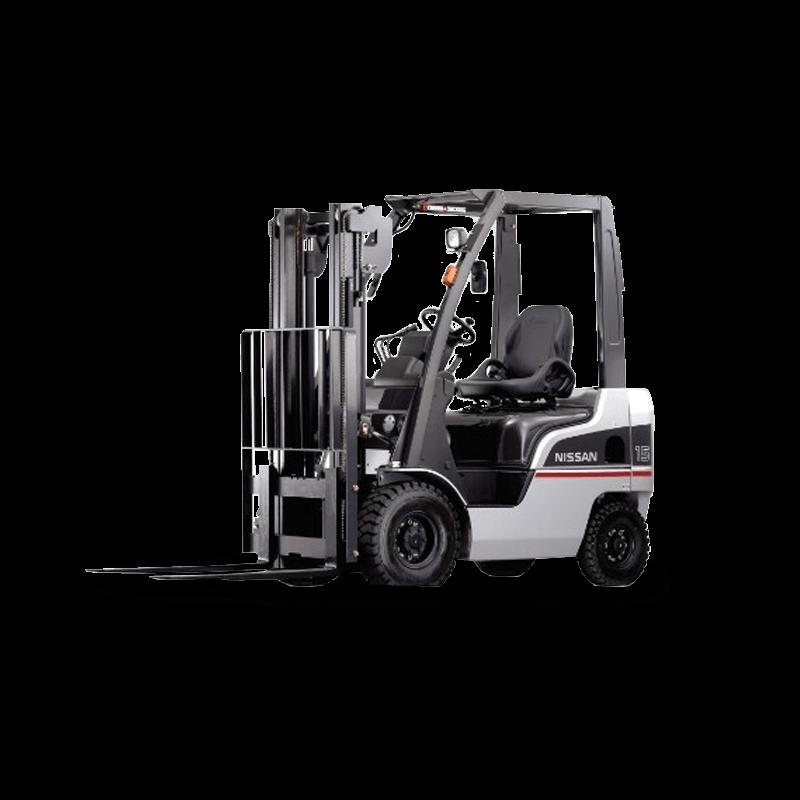 Nissan Used Forklift: P1F1A18DU