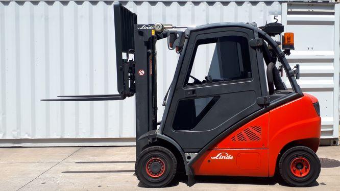 Linde Used Forklift: H20D – U78350Q