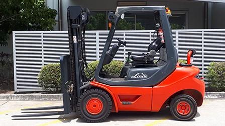 Linde Used Forklift: H25D – U78883Q