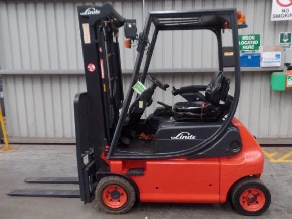 Linde Used Forklift: E16P – U70487V