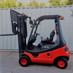 Linde Used Forklift: H18D – U78876Q